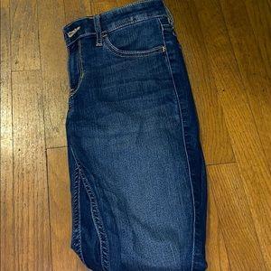 Medium wash denim hollister jeans